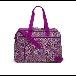 NWT Vera Bradley LightenUp weekender DreamDiamond